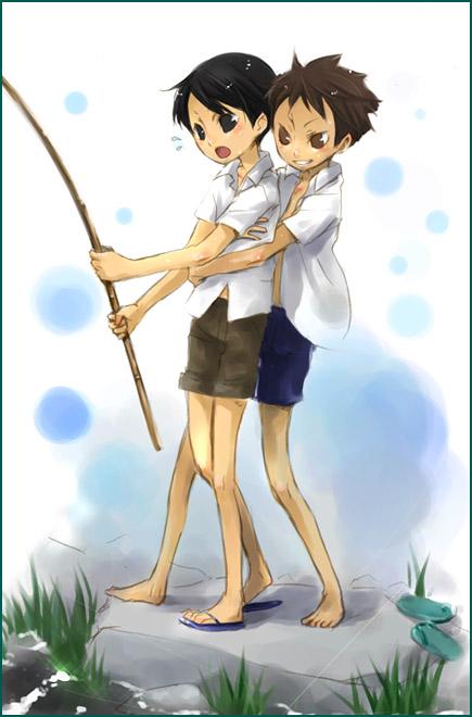 夏宿と市郎