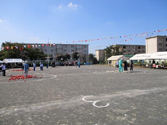 上飯田団地連合自治会 運動会 2017年