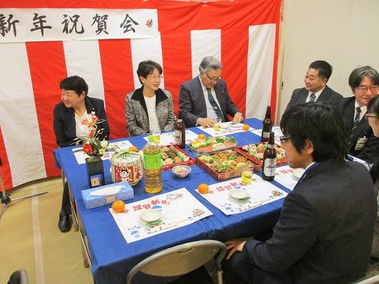 上飯田団地連合自治会 新年会