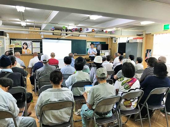 2018年7月23日(月) 防災講演会