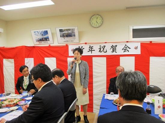 2019年1月6日(日)上飯田団地連合自治会 新年祝賀会