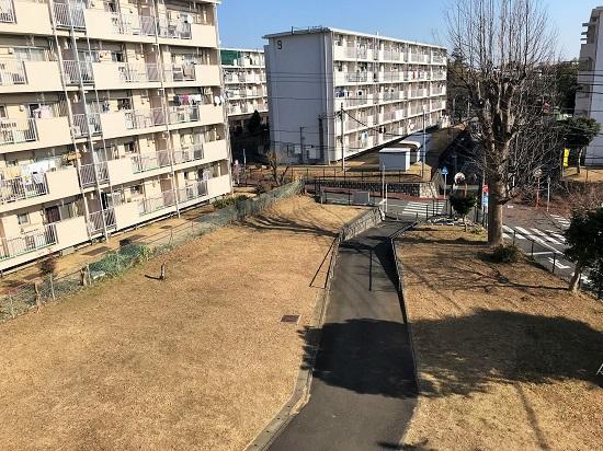 2019年1月13日(日)16棟の草の片づけ