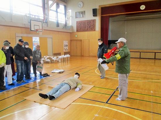 2019年1月20日(日)地域防災拠点の防災訓練