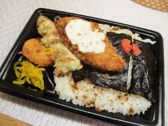 ファミマ 明太海苔弁当 430円(税込)