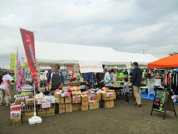 我らが、上飯田ショッピングセンターの村井肉店さんも、今年も出店!