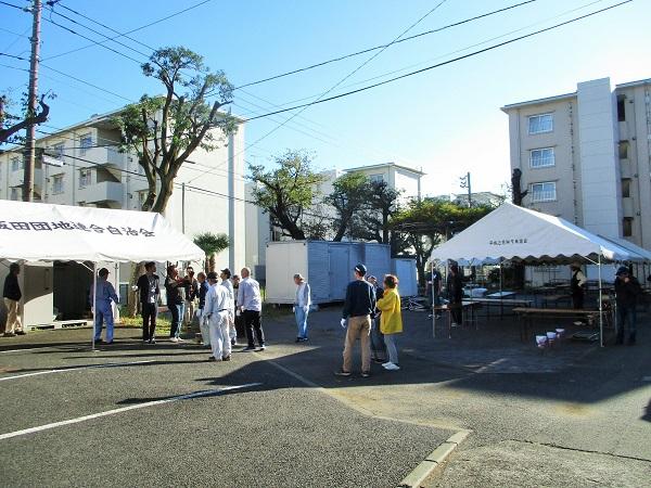 2019年11月16日(土)ふれあい団地祭り2019 前日準備