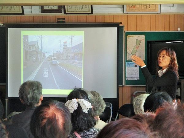 2019年11月19日(火)交通防犯部による交通安全講習会