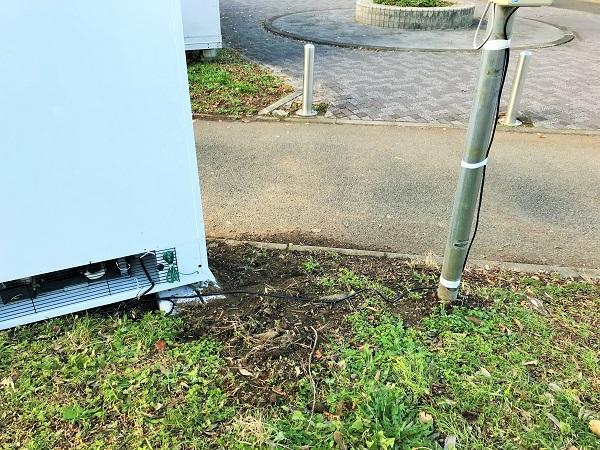 2019年12月5日(木)集会所前に自販機が設置されました!