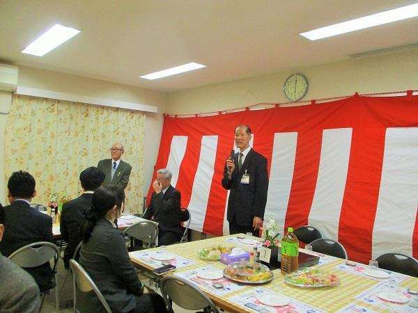 泉消防署の森田署長よりご挨拶頂きました。