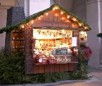 クリスマス屋台