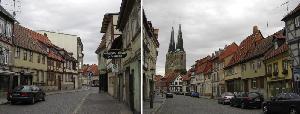 Quedlinburg街並