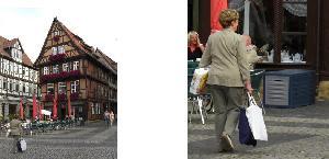 テューテを持つ人 in Quedlinburg
