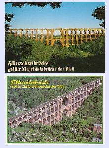 ゲルチュタール橋 絵はがき