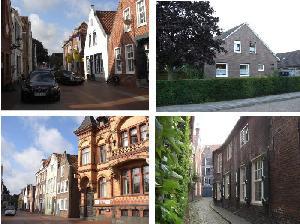 北ドイツの家並み