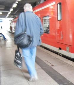 テューテを持つ人in Mainz