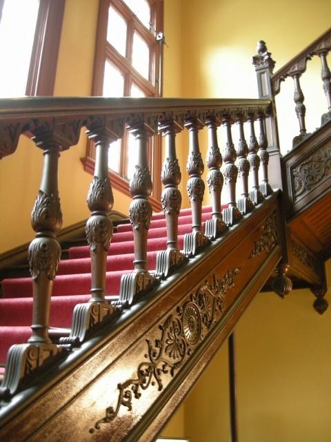 階段2 旧岩崎邸