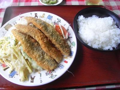 米沢食堂 魚フライ