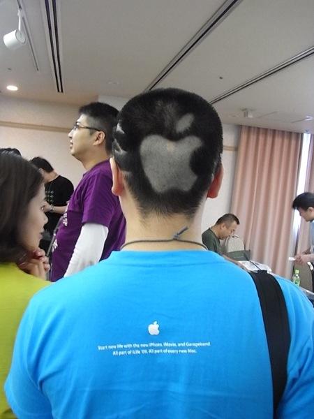 Appleヘアー