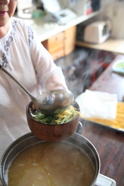 鶏飯 スープ