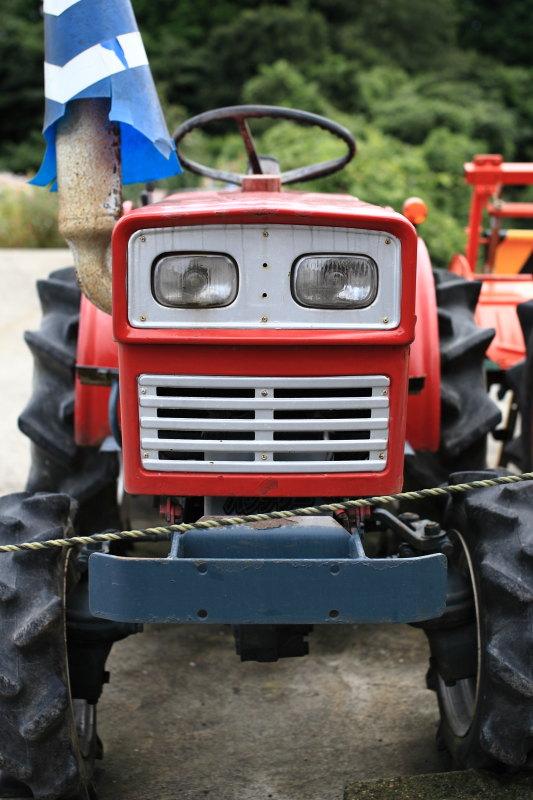 トラクターの顔 ロボット