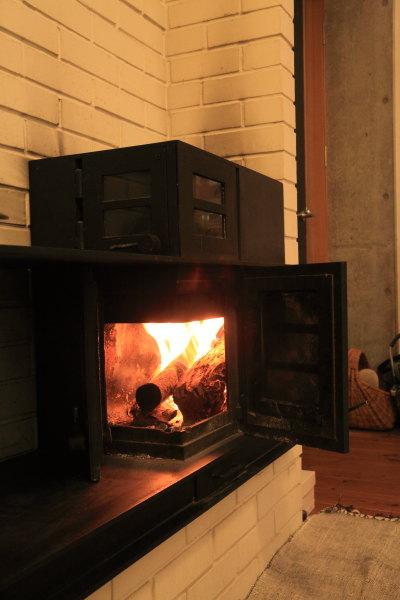 薪ストーブ 火入れ2012