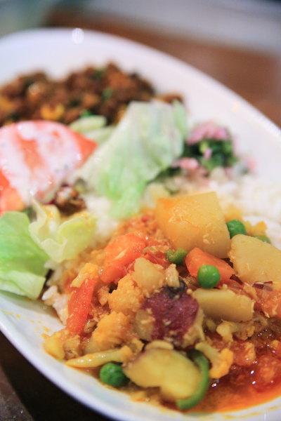 gheeのカレー 野菜