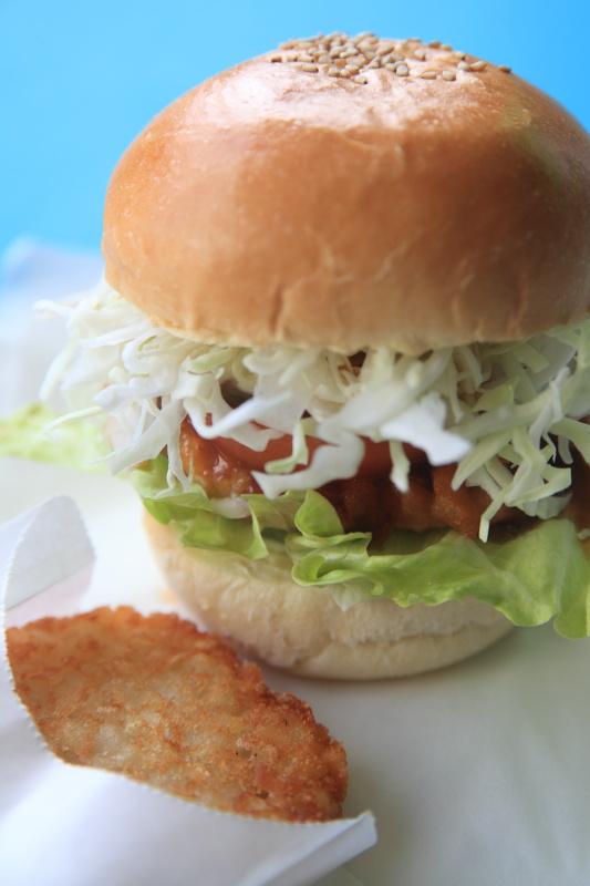 ホテルさつま赤鶏バーガー2014