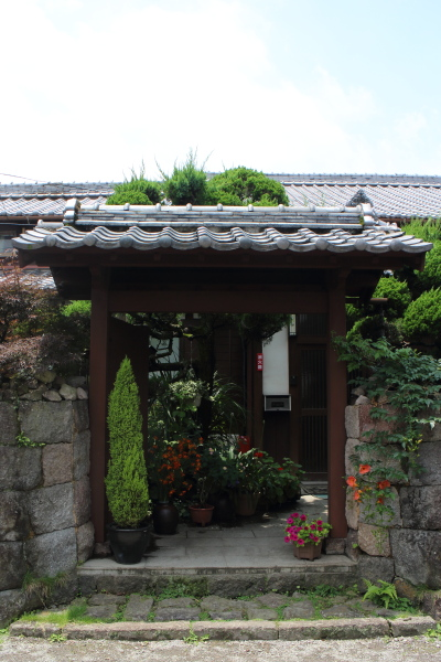 島原武家屋敷 門