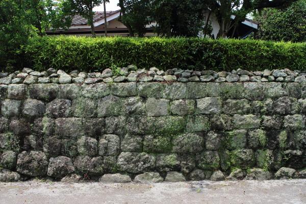 島原武家屋敷 石垣