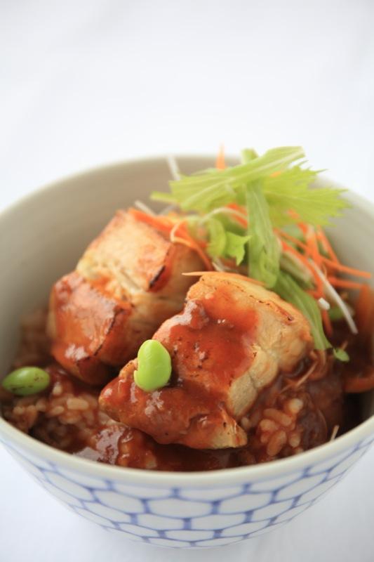 丼サミット 豚バラデミ丼