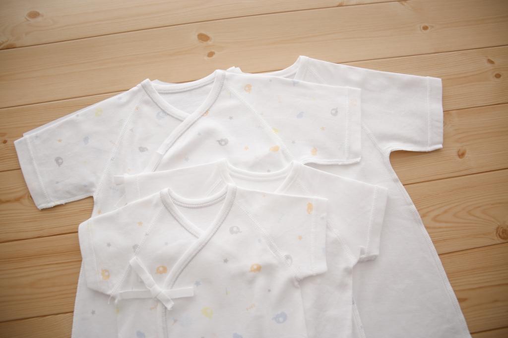 PUPOの肌着は綿100%で赤ちゃんのお肌に優しい