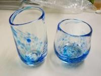 吹きガラス体験〜グラス完成品1