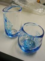 吹きガラス体験〜グラス完成品2