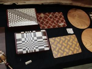 木製のマウスパッド