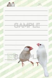 文鳥メモ帳