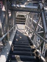 テレビ塔の階段