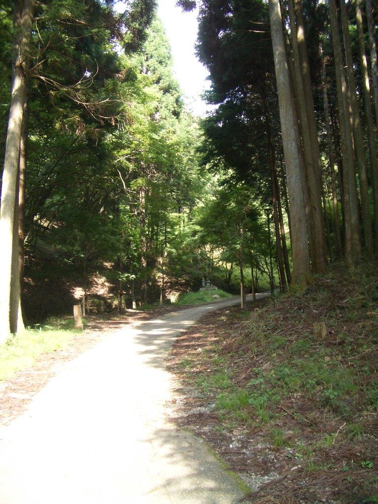 琴滝間での道