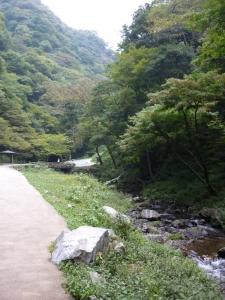 神庭の滝途中