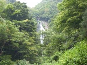 神庭の滝遠望2