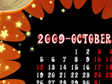 10月カレンダー/ハロウィン