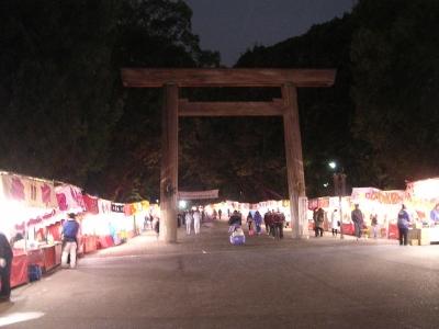 大晦日の熱田神宮
