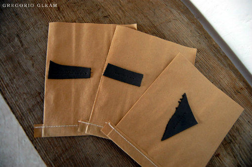 GREGORIO GLEAM オリジナル紙袋
