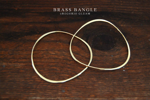 yawara brass bangle
