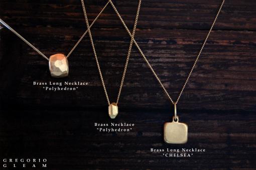 BrassLongNecklace