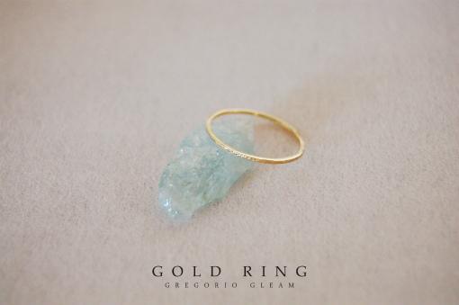 18K指輪 gold ring
