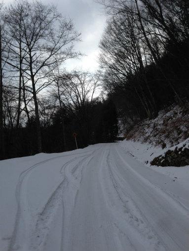 冬の大川山