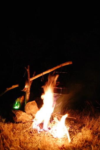 岳人の森ソロキャンプ