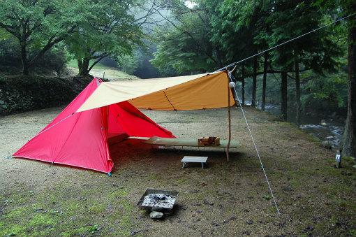 柏原渓谷キャンプ村 TaTuTaの森