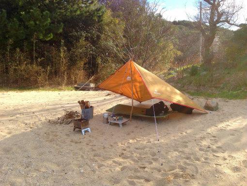 沙弥島デイキャンプ