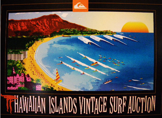 Hawaiian Island Vintage Surf Auction